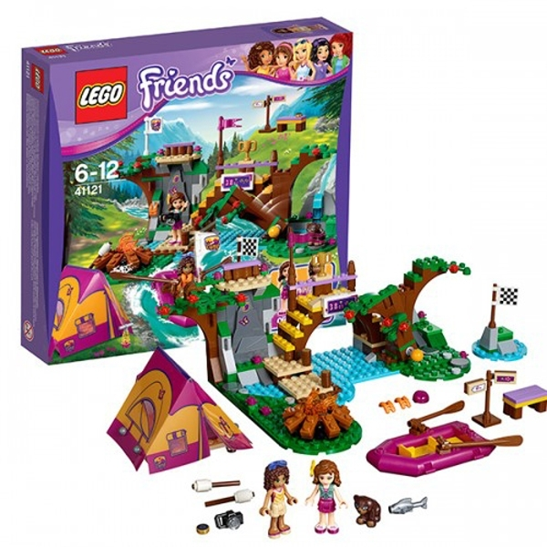 Конструктор LEGO Friends 41121 Спортивный лагерь: сплав по реке<br>