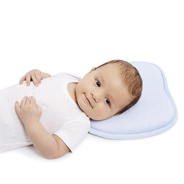 Подушка Baby Nice из латекса Универсальная (голубой, желтый, розовый)