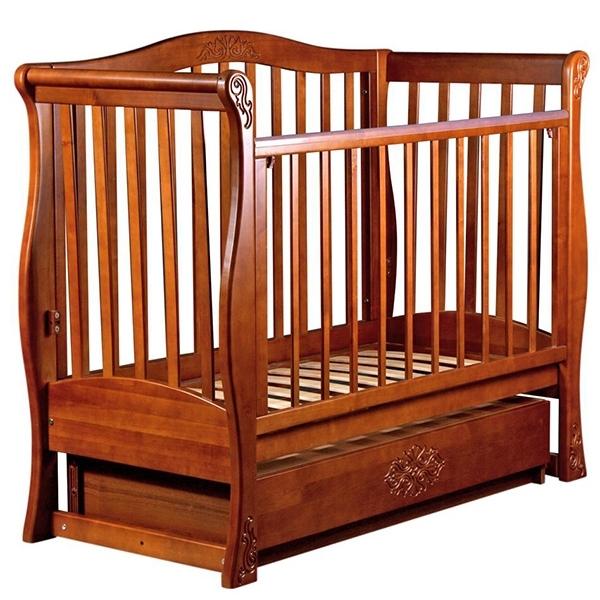 Кроватка Наполеон Viva Luxury Орех и Ольха<br>