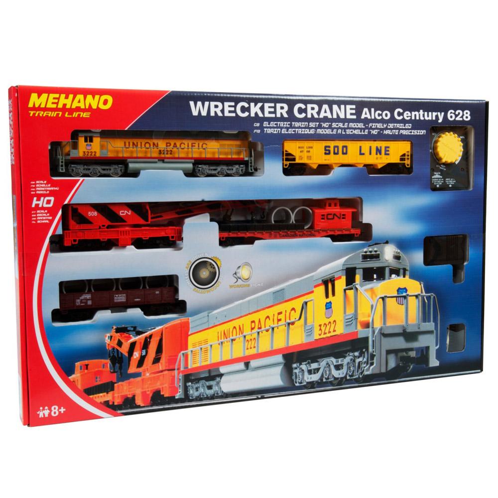 Железная дорога Mehano Wrecker Crane<br>