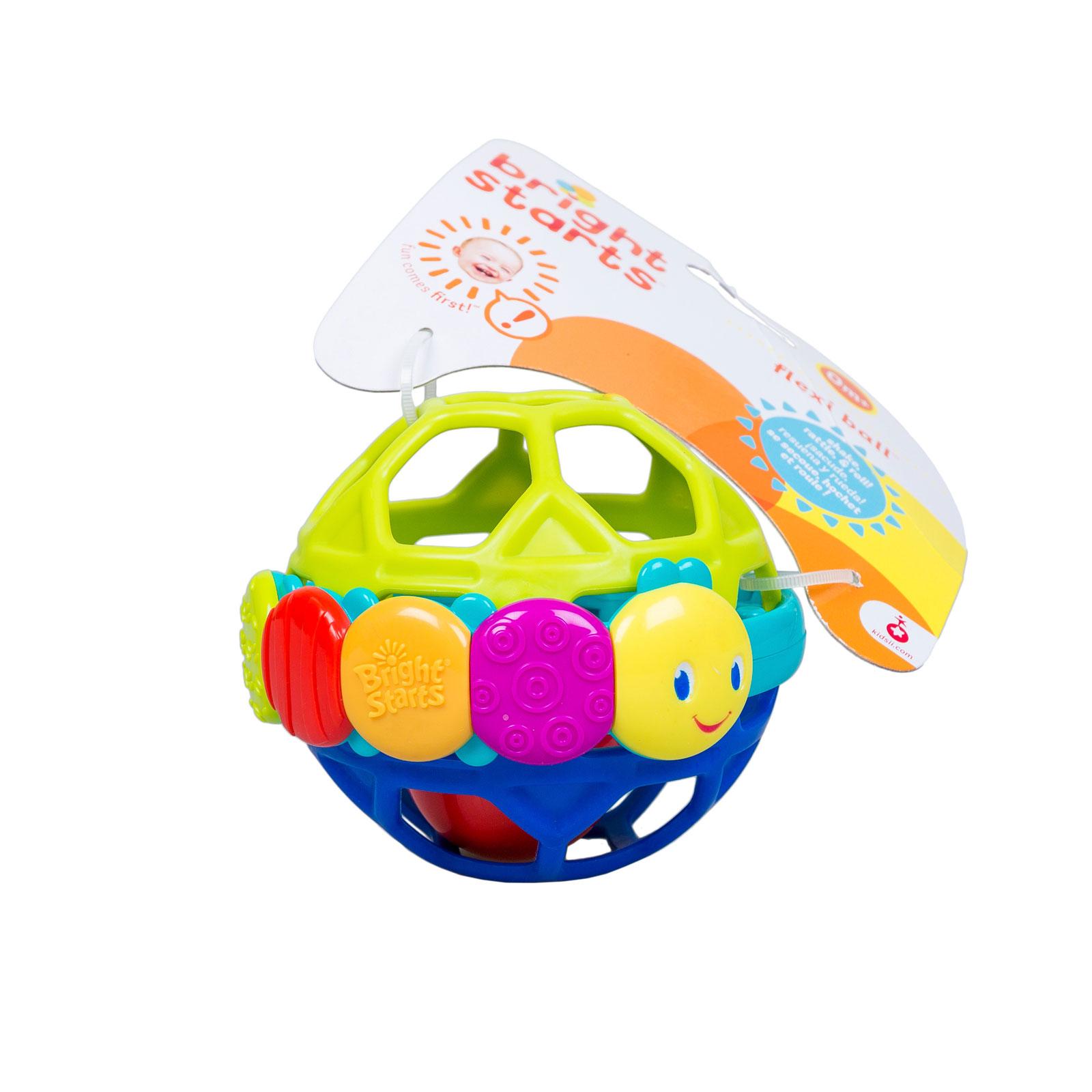 Развивающая игрушка Bright Starts Гибкий шарик с 0 мес.<br>