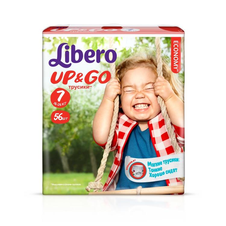 ������� Libero Up & Go Extra Large+ 16-26 �� (56 ��) ������ 7