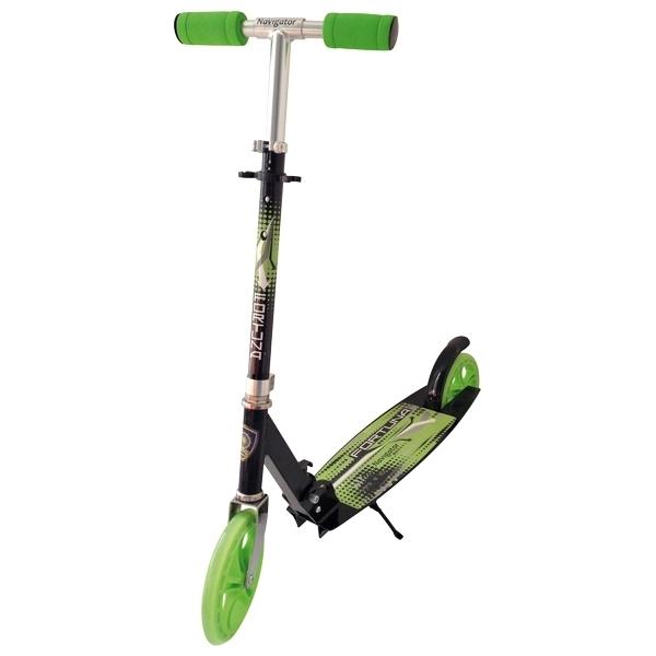 Самокат Navigator Fortuna Черный с зеленый<br>
