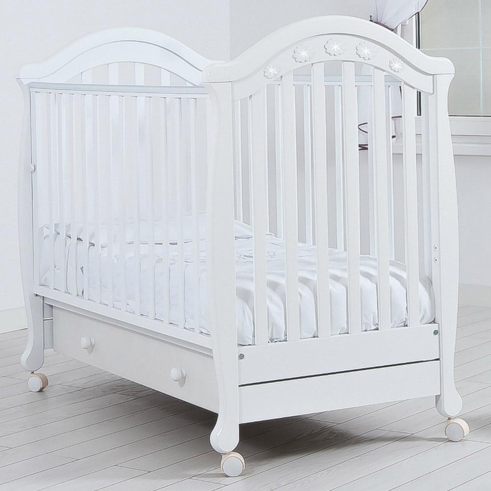 Кроватка Гандылян Джозеппе Белая<br>