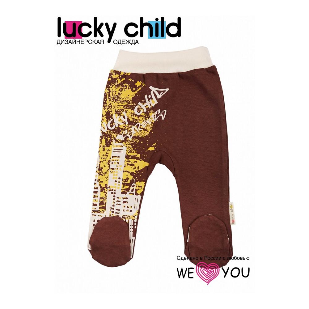 Ползунки низкие Lucky Child коллекция Город Размер 80