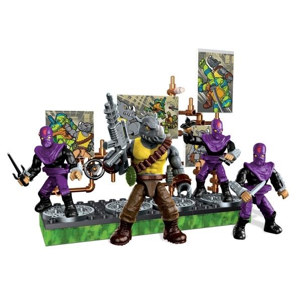 Игровой набор Mega Bloks Черепашки Ниндзя Игровые наборы «Схватка со злодеями»<br>