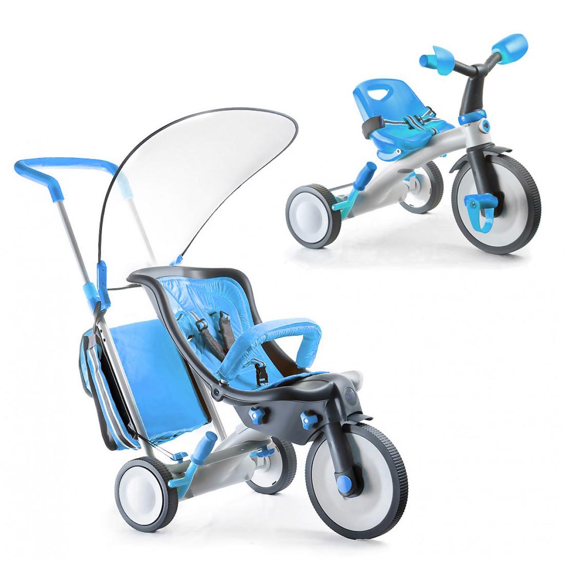 Велосипед Italtrike 3 в 1 Evolution Голубой<br>