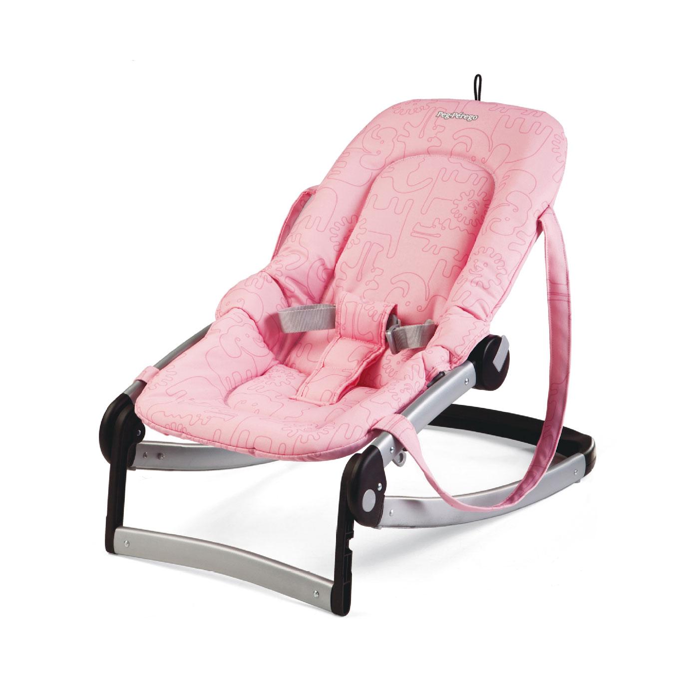 Шезлонг Peg Perego Mia Baby Seat Savana Rosa<br>