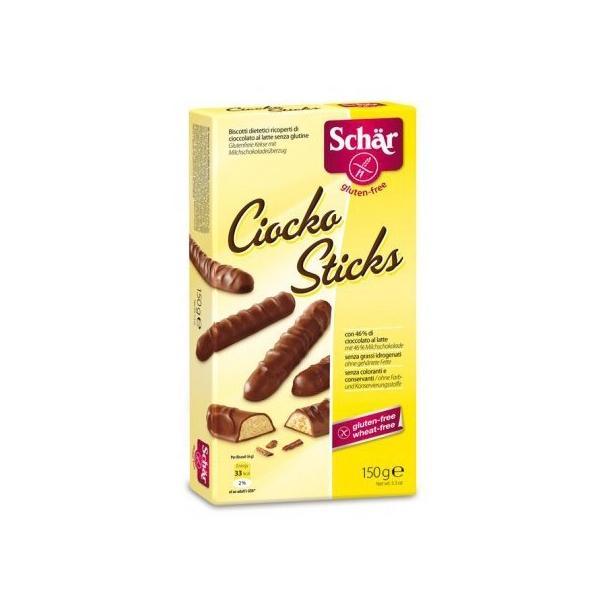 Печенье Dr. Schar Шоколадные палочки Ciocko sticks 150 гр<br>