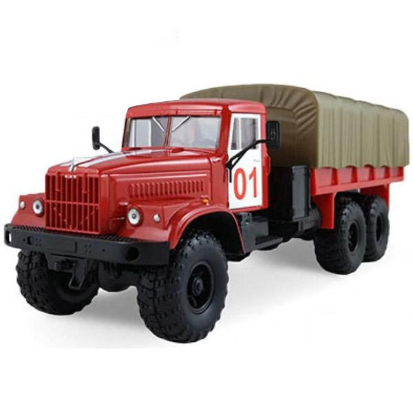 Машинка Autotime KRAZ-255B пожарная охрана<br>