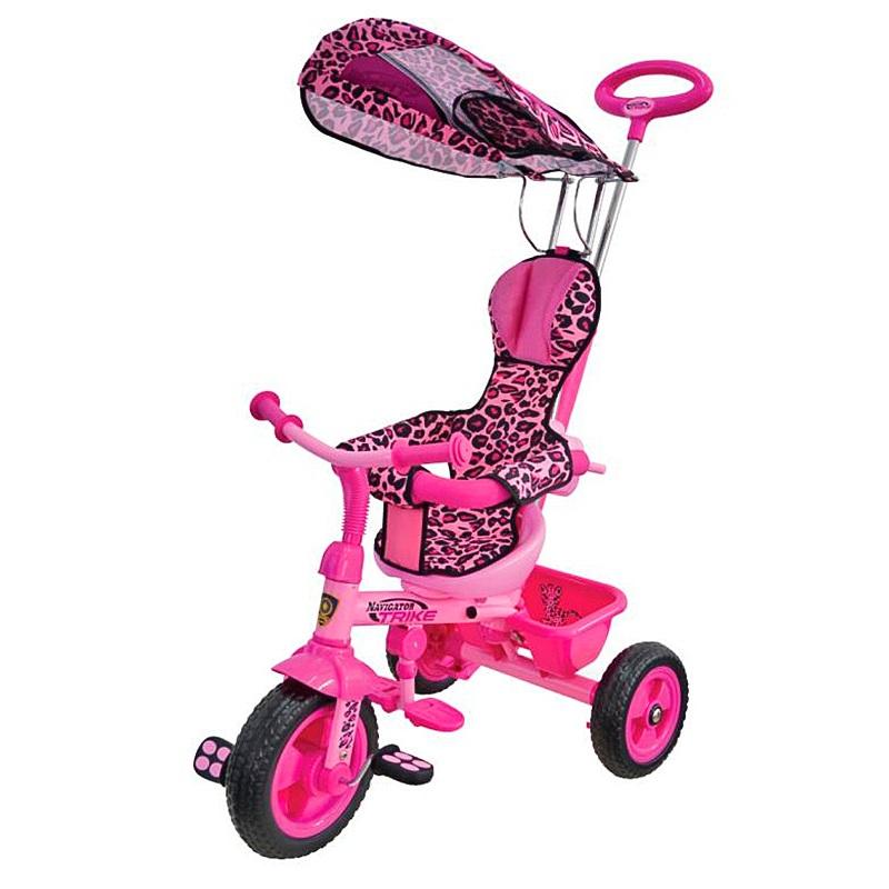 Велосипед Navigator Lexus Trike трехколесный Сафари Розовый Леопард<br>