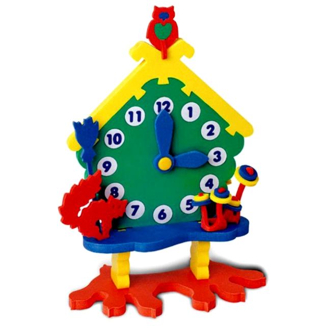 Развивающая игрушка Флексика Часы Избушка<br>
