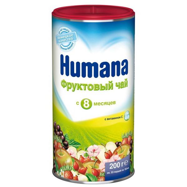 Чай детский Humana 200 гр Фрукты (с 8 мес)<br>