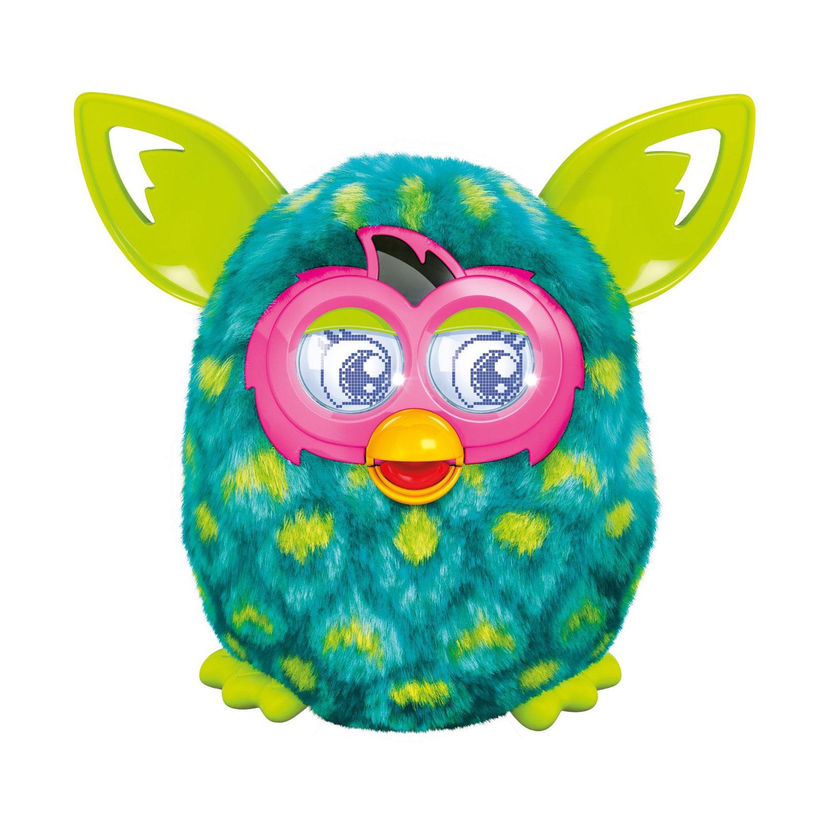 Интерактивная игрушка Furby Boom Солнечная  волна Зеленый в желтый горошек
