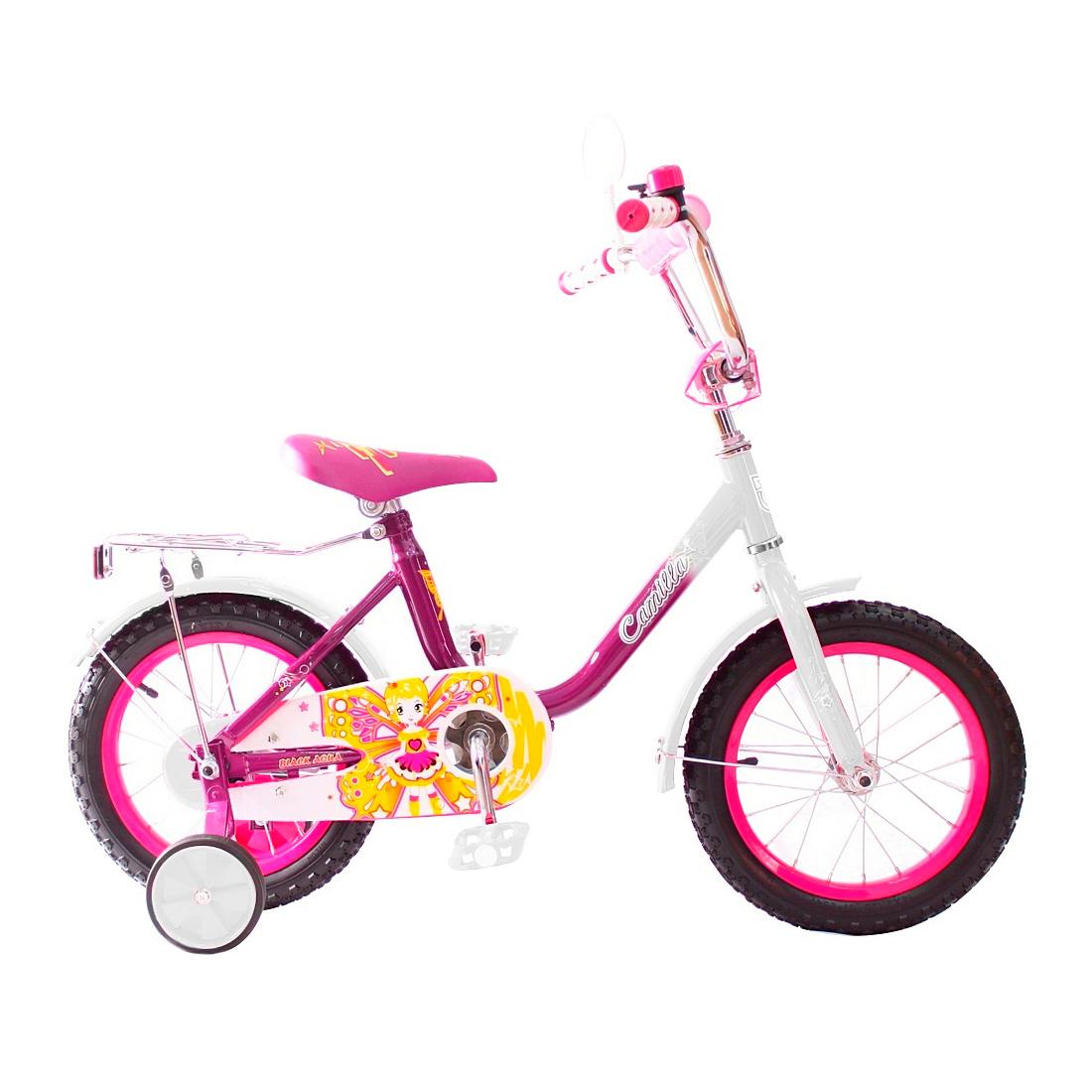 Велосипед двухколесный RT BA Camilla 14 KG1417 Розовый<br>