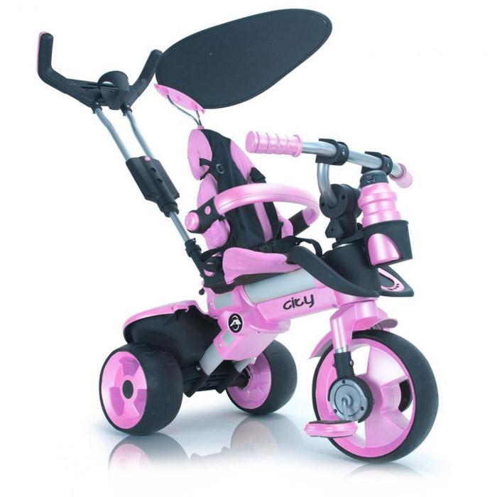 ��������� Injusa City Trike Aluminium Pink rosa