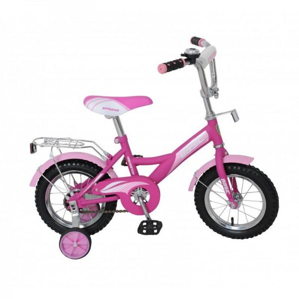 Велосипед Navigator 12 Basic KITE Фиолетовый с розовым<br>