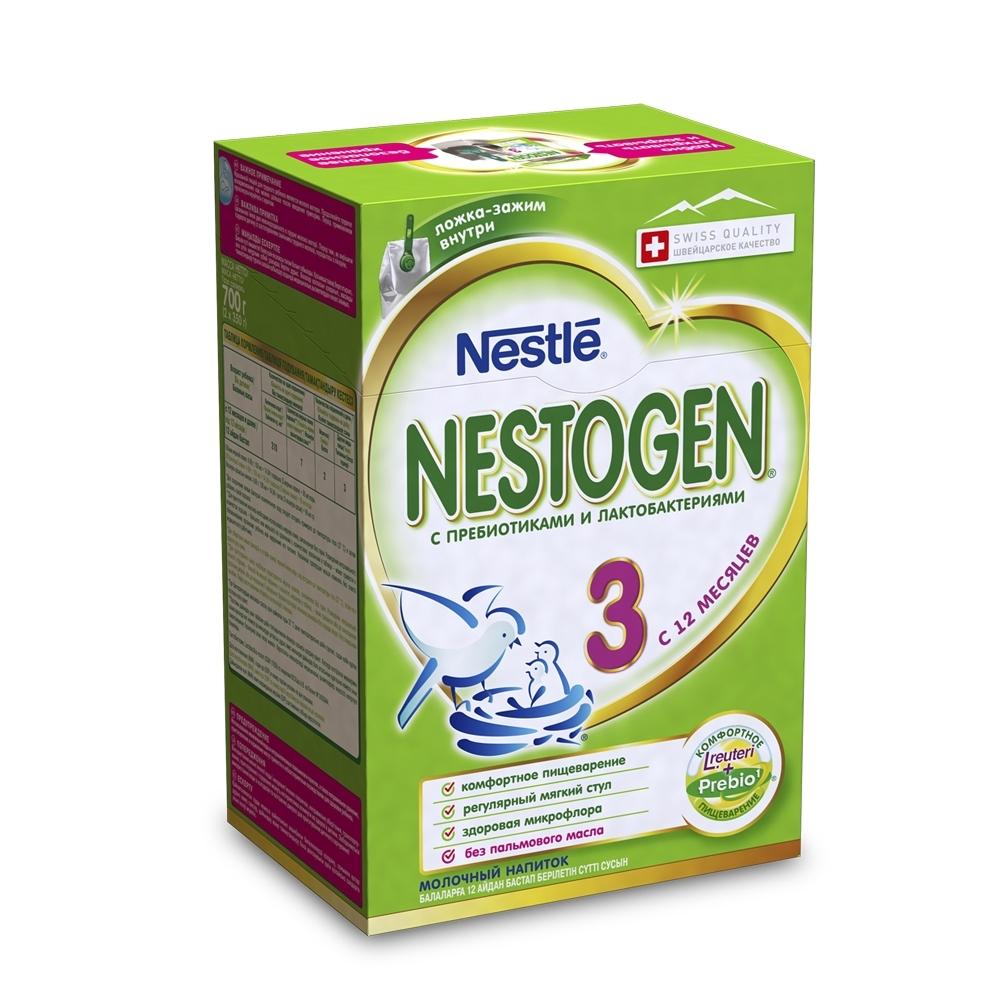 Детское молочко Nestle Nestogen 700 гр №3 (с 12 мес)<br>