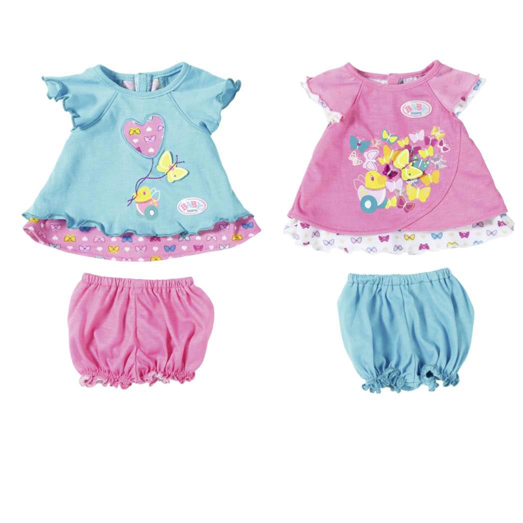 Одежда для кукол Zapf Creation Baby Born Туника с шортиками в ассортименте (2 вида)<br>