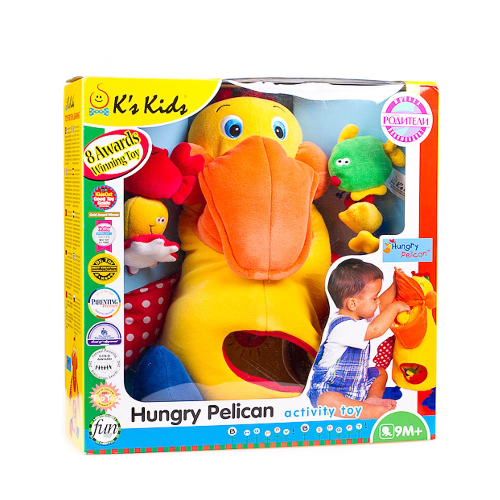 Развивающая игрушка K&amp;#039;s Kids Голодный пеликан с игрушками<br>