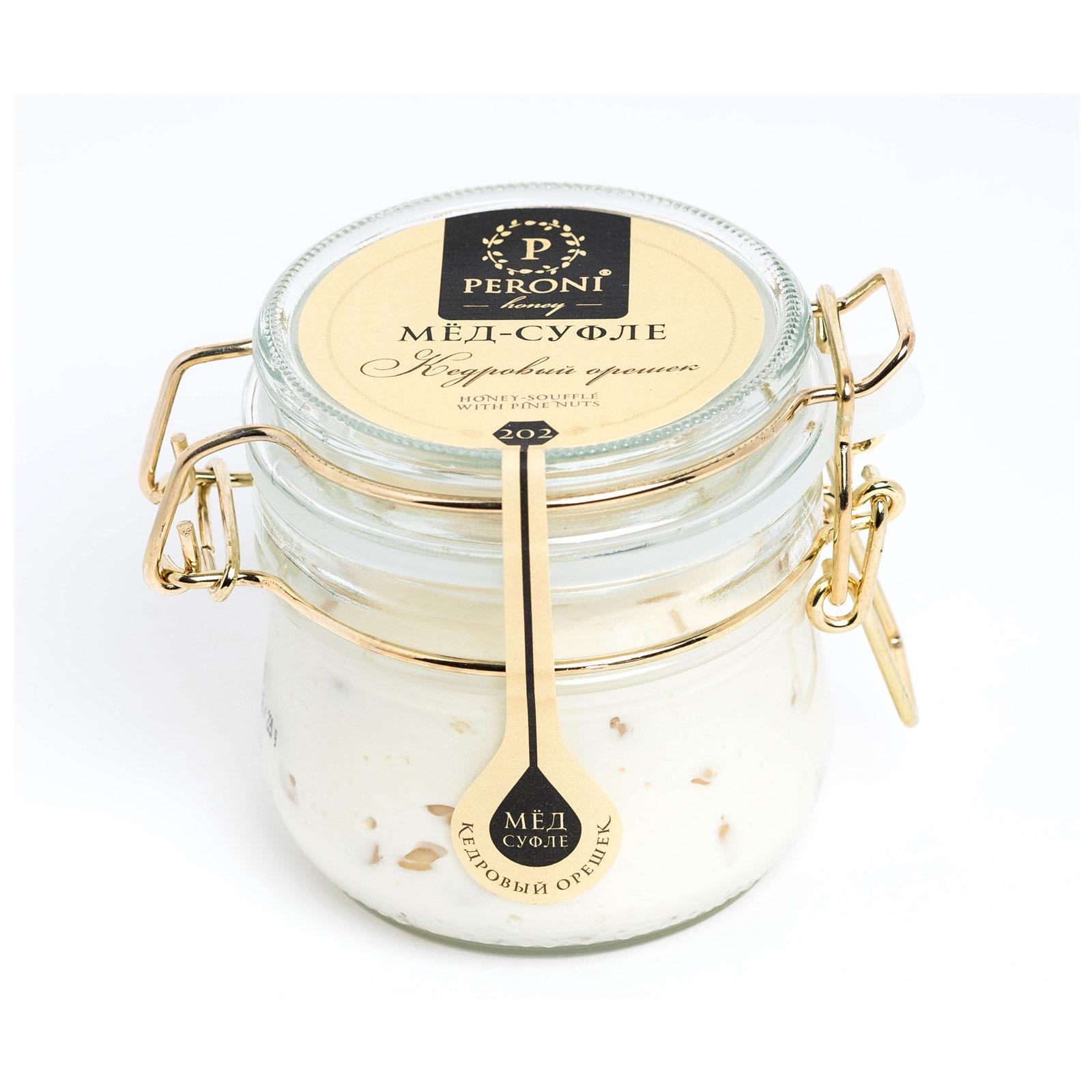 Мёд-суфле Peroni Honey 250 мл Кедровый орешек<br>