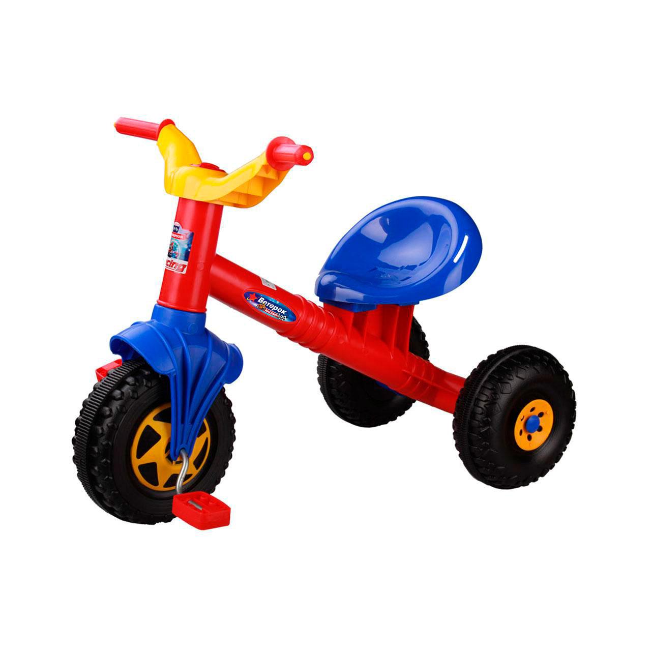 Велосипед трехколесный Альтернатива Ветерок Красный<br>