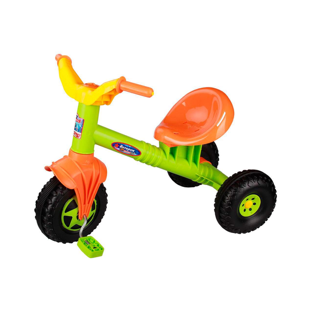 Велосипед трехколесный Альтернатива Ветерок Зеленый