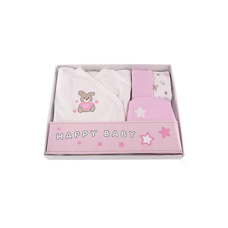 Подарочный набор Наша Мама Зайка для девочки рост 68 розовый<br>