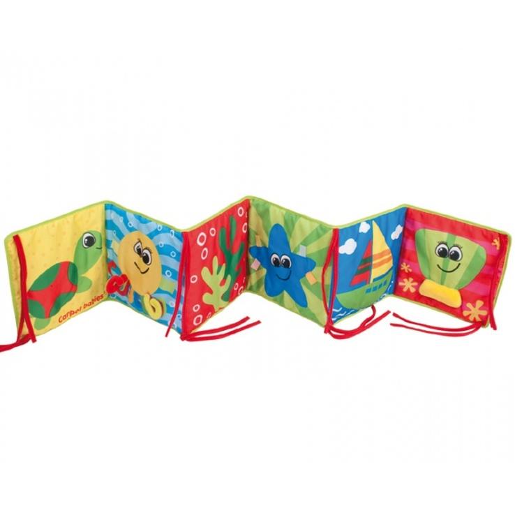 Развивающая игрушка Canpol Babies Мягкая книжка<br>