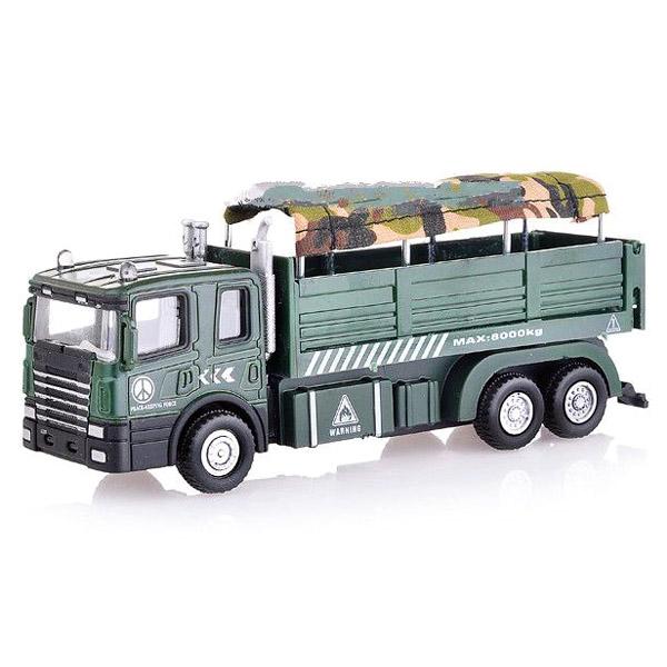 Машинка Autotime MILITARY AUTOTRUCK для перевозки солдат 1:48<br>