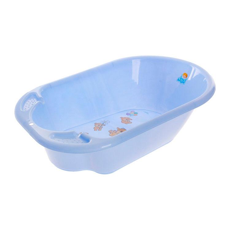 Ванночка Little Angel Дельфин с рисунком Цвет - голубой<br>