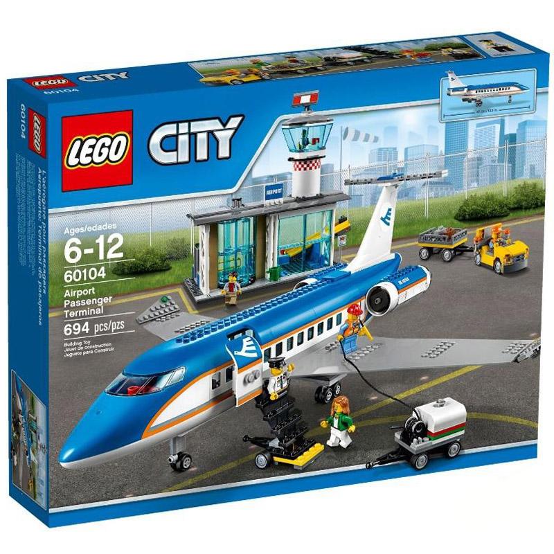 Конструктор LEGO City 60104 Пассажирский терминал аэропорта<br>