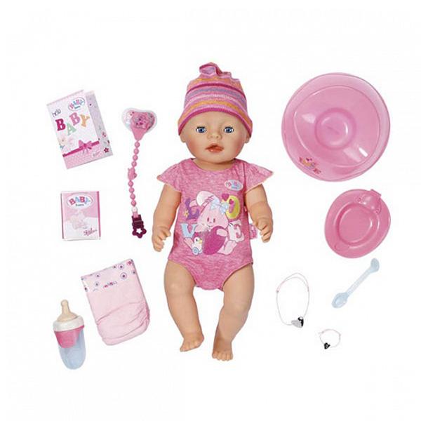Кукла Zapf Creation Baby Born 43 см Интерактивная (обновленная)<br>