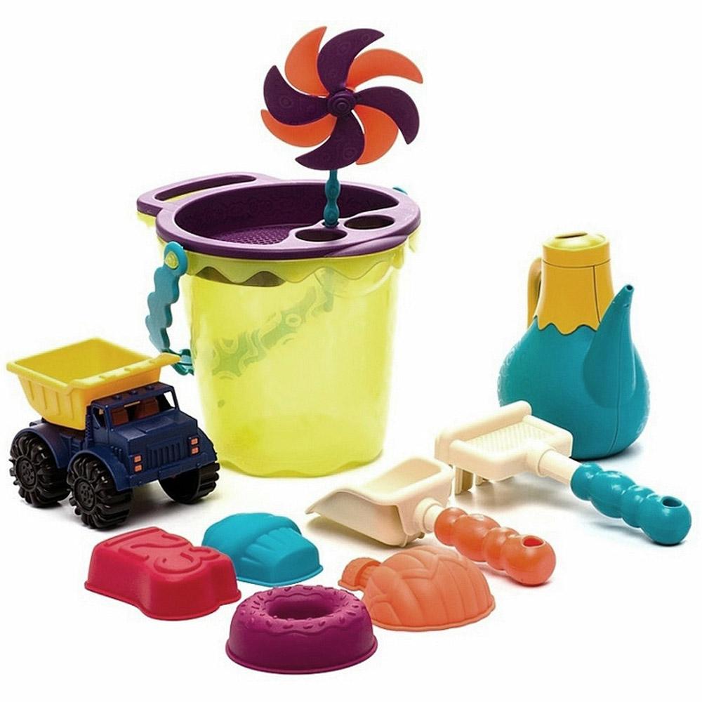 Игровой набор для песка в  сумке B.Summer Зеленый<br>