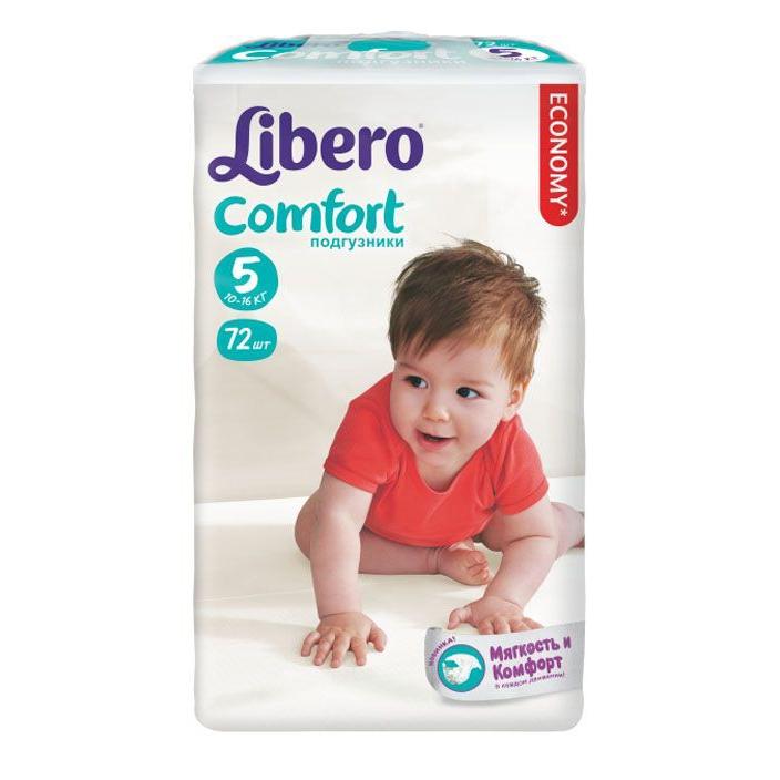 ���������� Libero Comfort Maxi+ 10-16 �� (72 ��) ������ 5