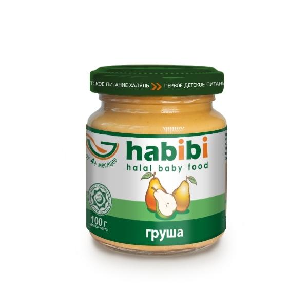 Пюре Habibi фруктовое 100 гр Груша (с 4 мес)<br>