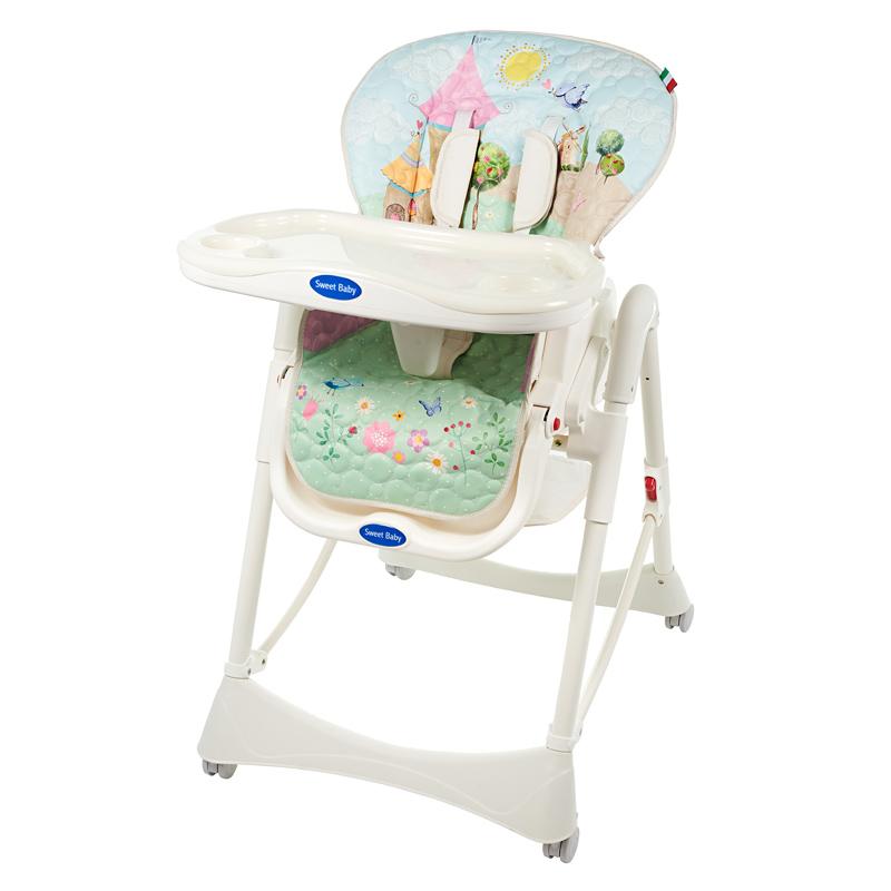 Стульчик для кормления Sweet Baby Land Happy Oval<br>