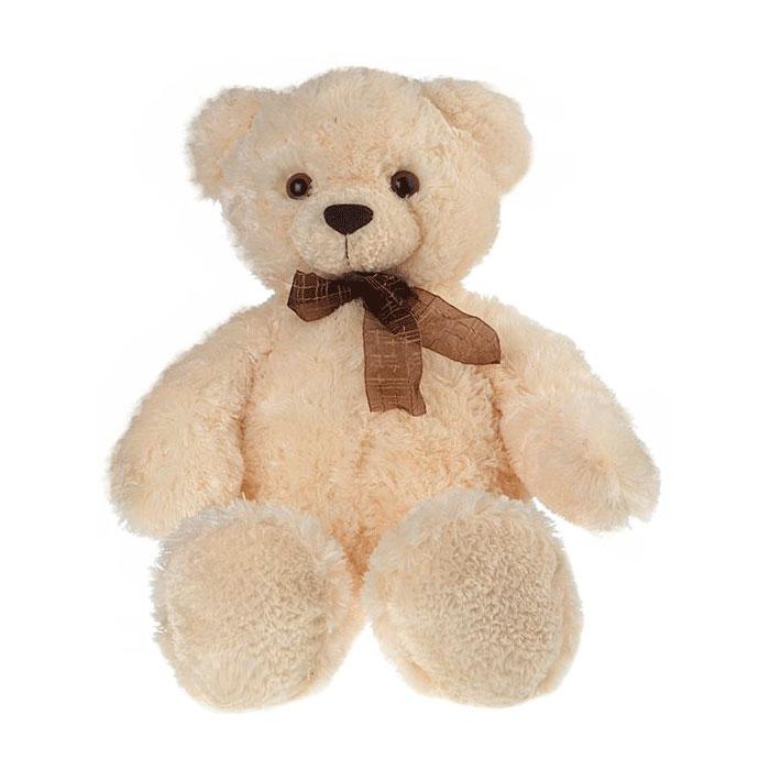 Мягкая игрушка AURORA Медведи Медведь белый с бантом 69 см<br>
