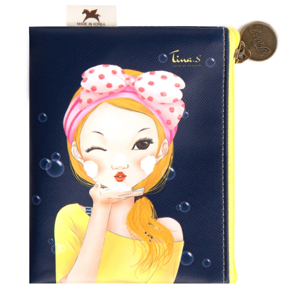 Косметичка карманная  Fascy BUBBLE Tina Mini Pocket Pouch<br>