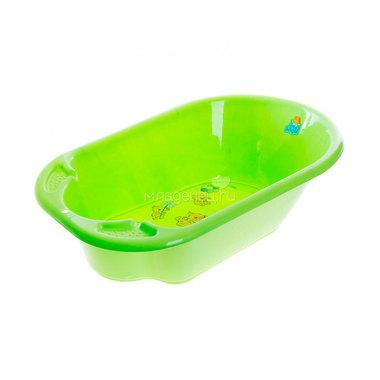 Ванночка Little Angel Дельфин с рисунком Цвет - зелёный