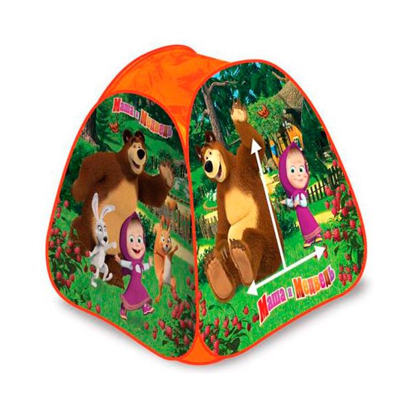 Палатка Играем вместе Маша и Медведь 81*91*81см<br>