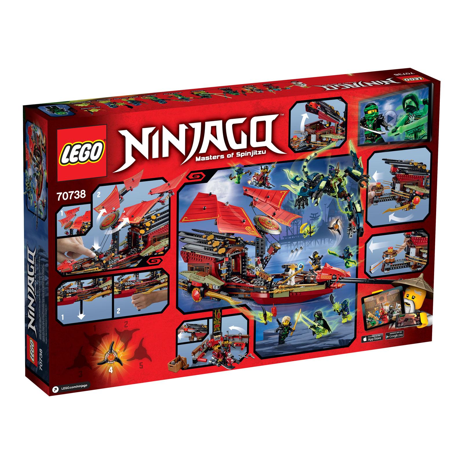 ����������� LEGO Ninjago 70738 ������� ��� ������- �������� �����