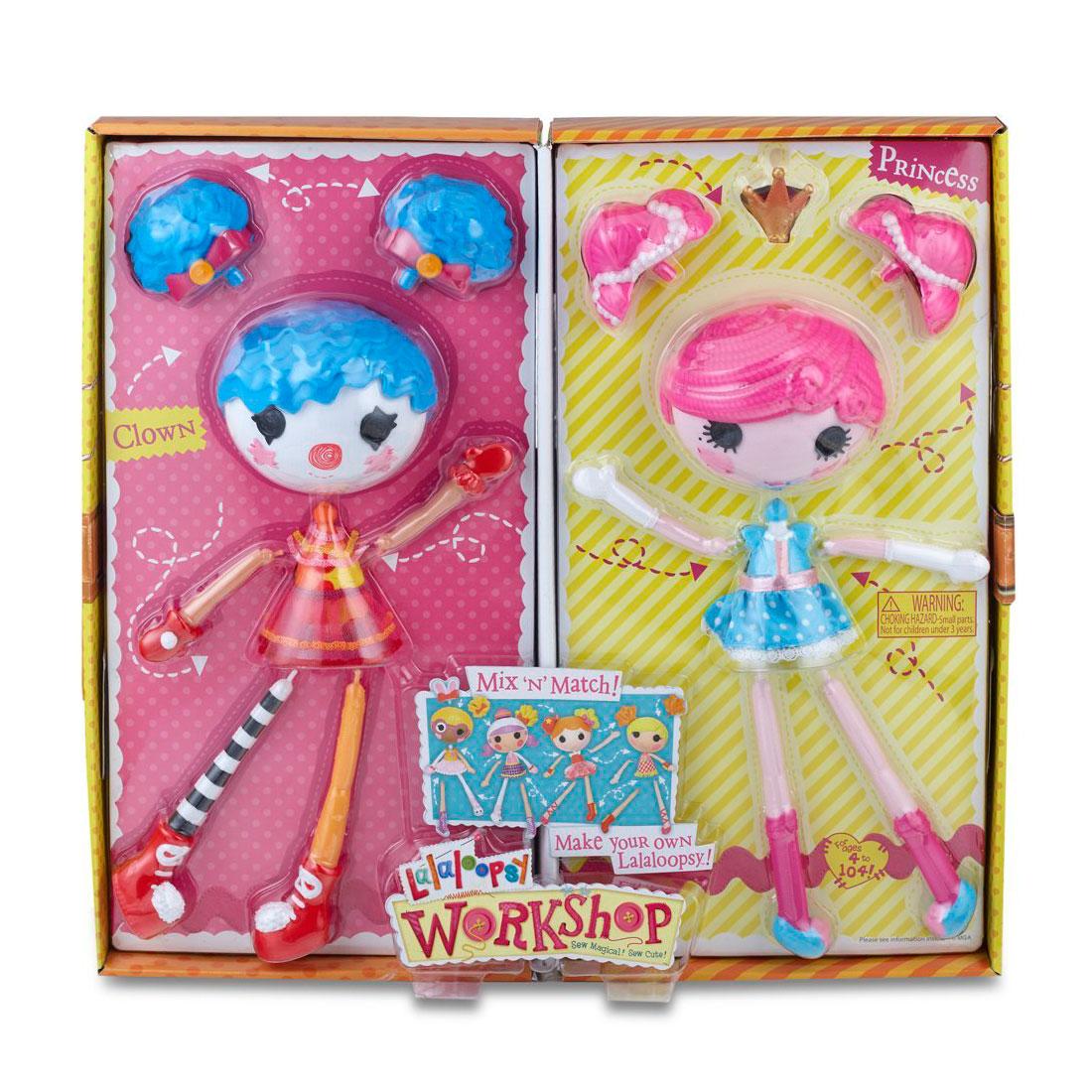 Игровой набор Lalaloopsy Фабрика принцесса/клоун<br>