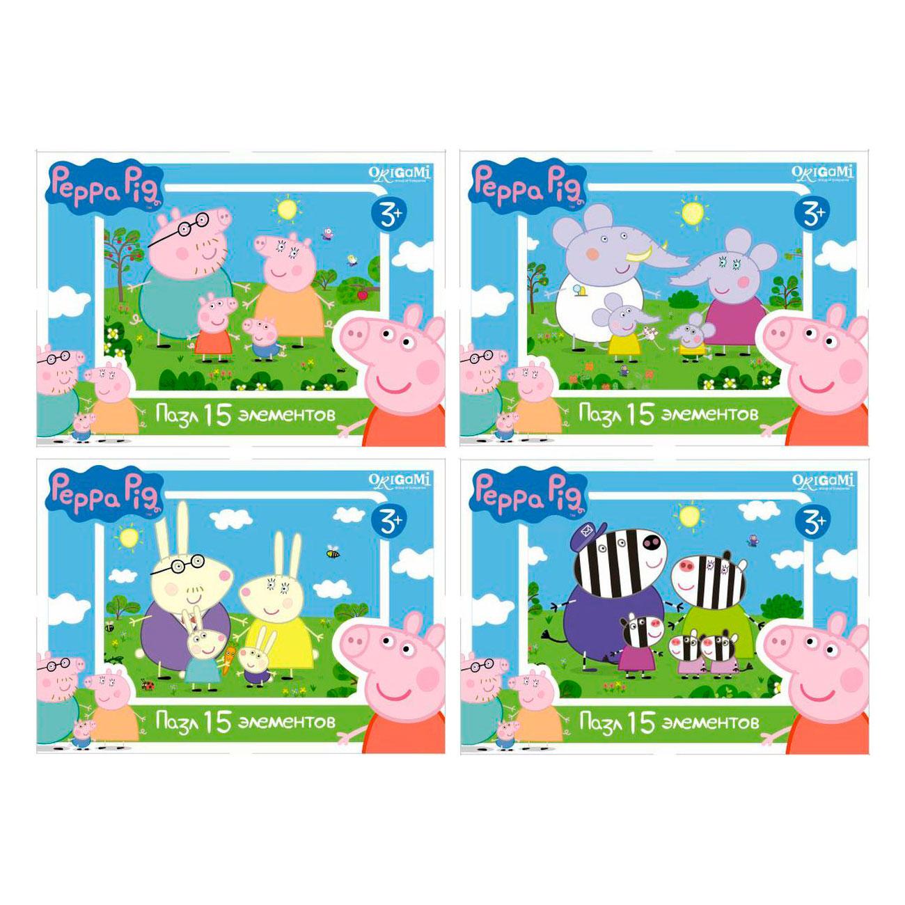Пазл Origami Peppa Pig 1593<br>