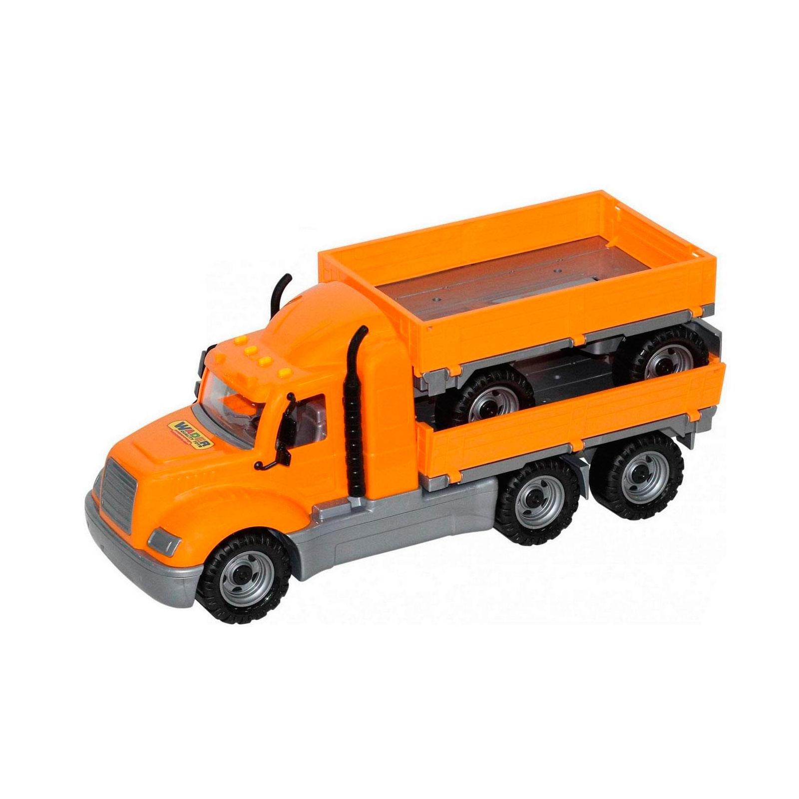 Автомобиль бортовой Wader Майк с прицепом в коробке 55538<br>