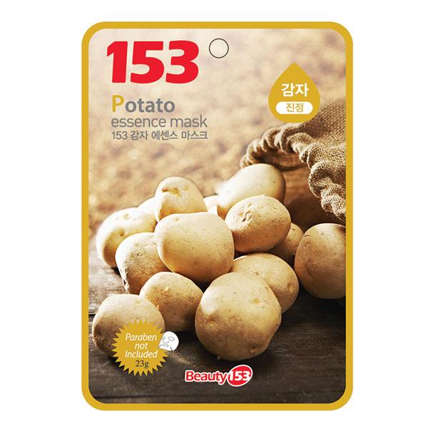 Маска тканевая Beauty 153 с экстрактом картофеля<br>