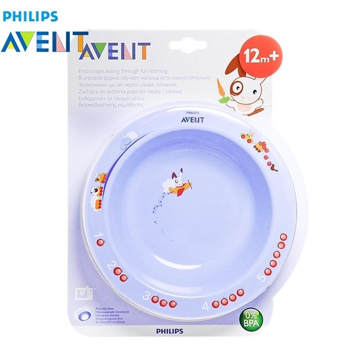 Тарелка Philips Avent Большая с нескользящим основанием (с 12 мес)<br>
