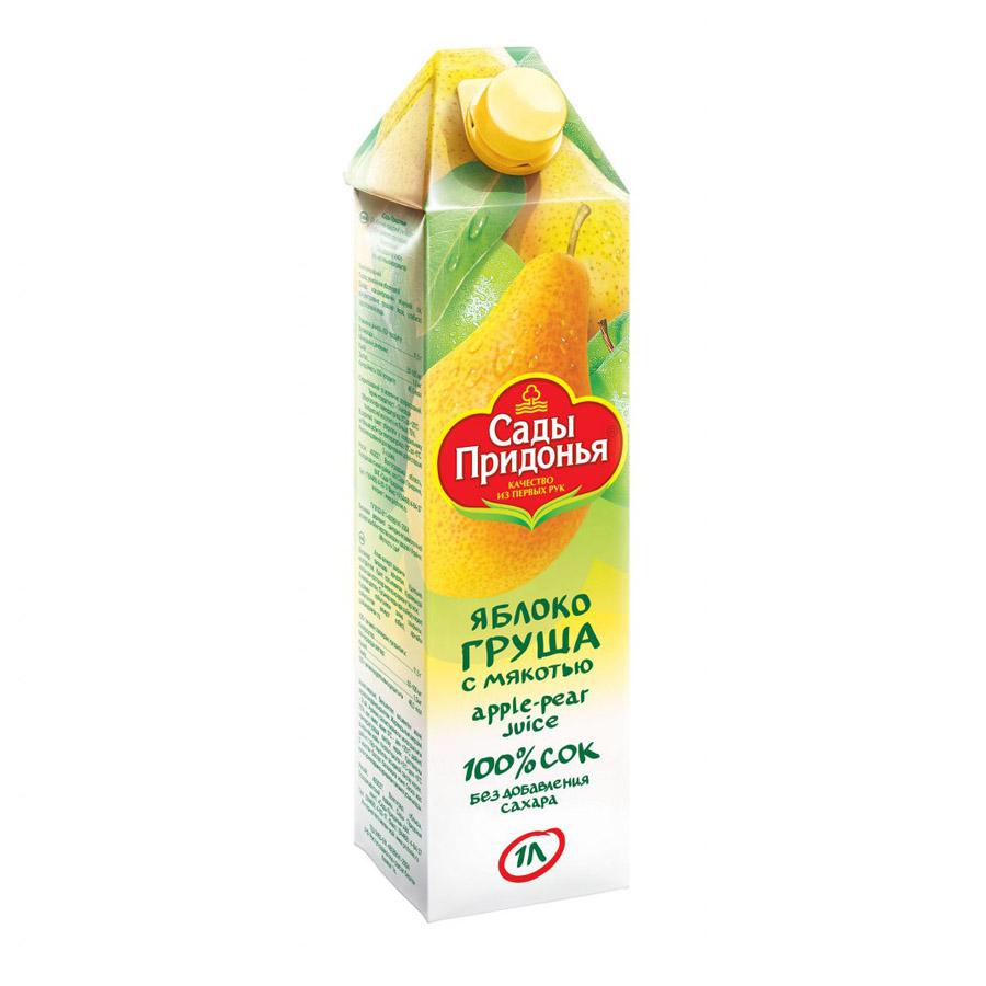 Сок Сады Придонья 1л. Яблоко-груша<br>