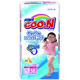Трусики Goon для девочек 12-20 кг (38 шт) Размер BIG