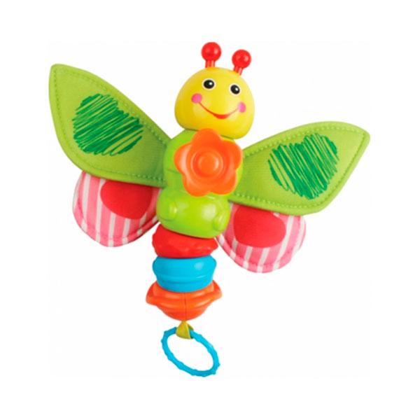 Погремушка Royalcare Бабочка Музыкальная со световыми эффектами<br>